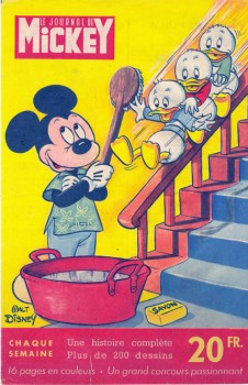 le Journal De Mickey N:0 (Avril 1952 ).