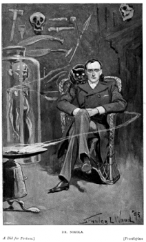 Doctor Nikola illustrated by Stanley L. Wood