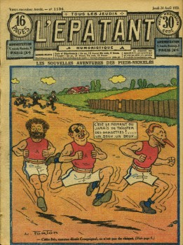 L'Epatant 1930 - n°1134 - page 1 - Les Pieds Nickelés - 24 avril 1930 (format l 800).jpg