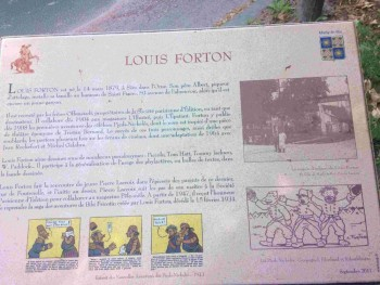 plaque Forton à Marly le roi