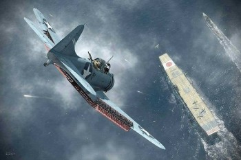 Douglas SBD Dauntless - Dive bomber